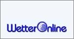 Logo mit Schriftzug des Wetterdienstes WetterOnline