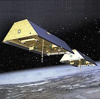 GRACE-Satelliten, Quelle: DLR