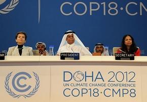 UN-Klimakonferenz DOHA 2012