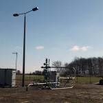 Erdgasförderbohrung Mellin 14 in der Altmark
