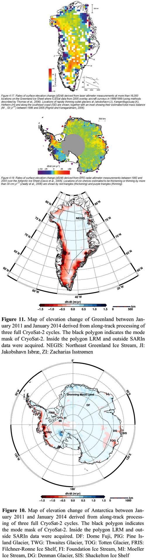 Eis-Groenland-Antarktis