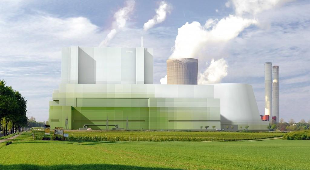 Das BoAplus ist deutlich kleiner als bisherige Braunkohlekraftwerke gleicher Leistung.