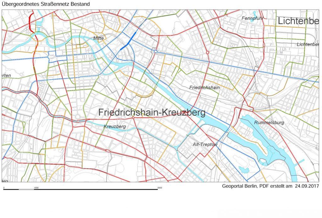 Bild 2. Ohne detaillierte Planung würde die Verkehrsprobleme in unseren Städten zu völligem Chaos führen (Grafik: [STPL])