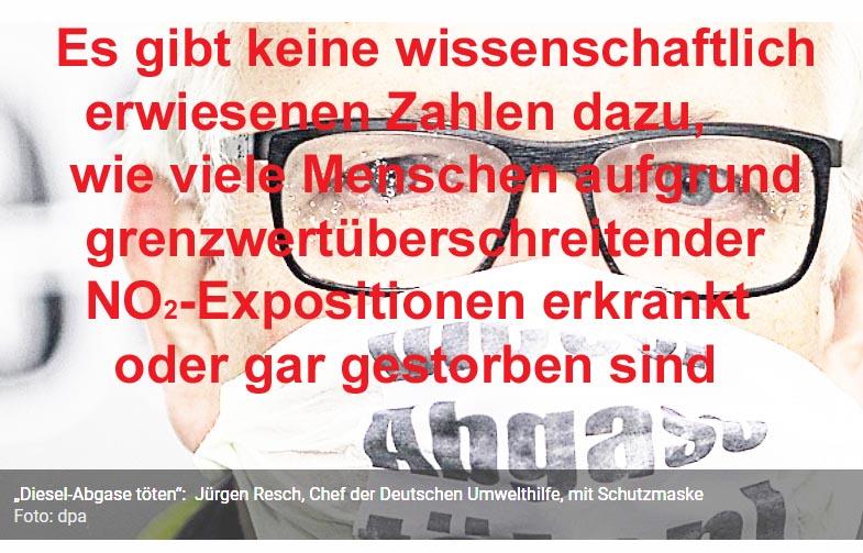 """Bild 5. Solche unbequemen Wahrheiten des Diesel-Untersuchungsausschusses des Bundestags [BUTA] werden von den Medien totgeschwiegen. Stattdessen werden wir mit Horrormeldungen über """"Diesel-Tote"""" regelrecht überflutet"""