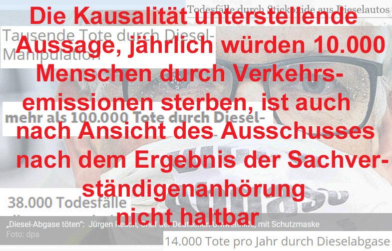 """Bild 7. Eine weitere """"unbequeme Wahrheit"""" des Bundestags-Untersuchungsausschusses zur Dieselaffäre"""