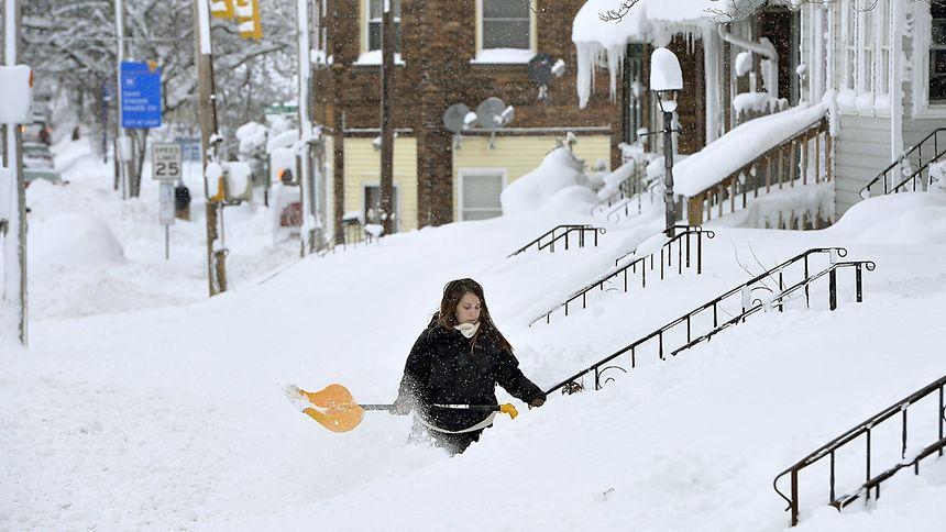 Schnee-USA