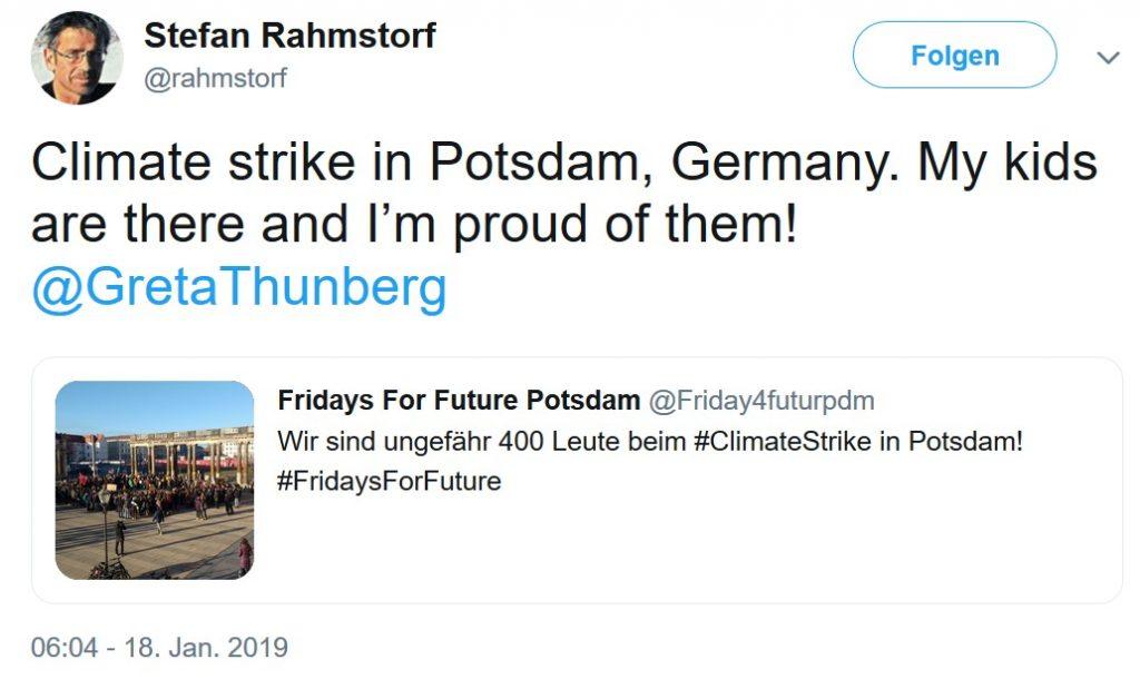 Rahmstorf-Klimastreik